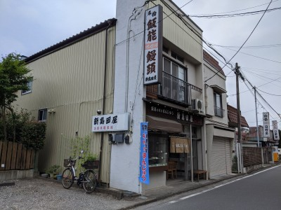 新島田屋と自転車